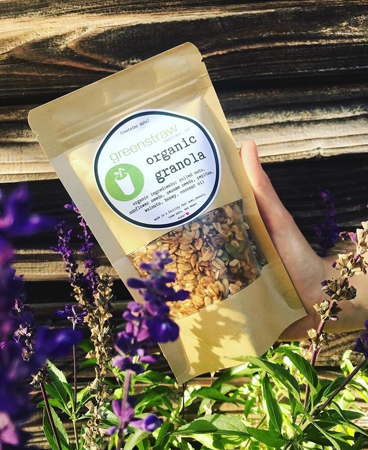 our granola is house made and organic, made from the highest quality ingredients!